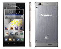 "Best DHL FREE Best Lenovo K900 5.5"" IPS FHD Screen Android 4.2 2GB RAM Intel Atom Z2580 2.0GHz Single SIM Unlocked 3G Smart Mobile Cell Phone"