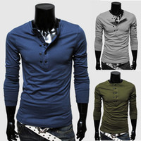 Men Cotton Polo Fast delivery 2014 sportsman fashion design long sleeve Polo t-shirt best quality t-shirt 5color M L XL XXL