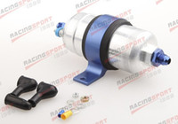 Wholesale External Fuel Pump for Bosch Billet Bracket Black AN Inlet AN Outlet Blue color