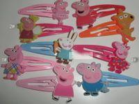 Cheap Barrettes girls hairpins Best Plastic Animal pig hairpins