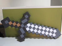 Wholesale Black Minecraft Swords toys cm Retail