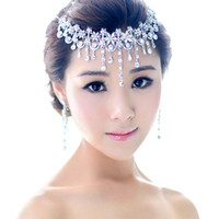Cheap Hot Free Shipping Bling Shining Rhinestone Arabic Bridal Hair Crown Tiara Hair Wedding Jewelry Accessories Rhinestone Crystal Hair Accessory