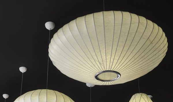 Flos Blase Lampe Saucer Pendelleuchte George Nelson Flos Design ...