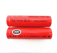 Wholesale vapes UPS TNT EXPRESS SHIPPING AW IMR battery electronic cigarette e cigarette e cigarette e cig battery