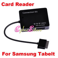 Wholesale Card Reader USB HUB OTG Host Connection Kit For Samsung Galaxy Tab quot P5100 quot quot P7500 P3100