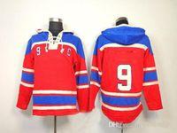 best outdoor jacket - Richard Hockey Hoodies Mens Red Comfortable Winter Hockey Jackets Top Quality Outdoor Apparel Top Sellers Best Sportswear
