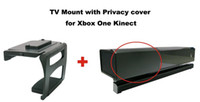 For Xbox Xbox One Kinect  New TV Mount with Privacy cover for Xbox One Kinect 500set lot