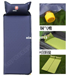 Wholesale Swiss Gear discount Picnic mat inflatable packer outdoor camping single air mattresses