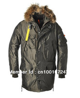 Wholesale Hot brand man Down jacket men Kodiak long parka male winter outdoor puffer coat real fur outerwear parkas top quality