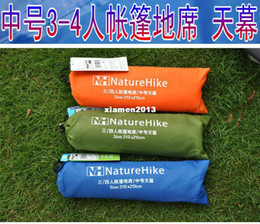 Wholesale Naturehike3 Medium tent mat sun shading tentorial thickening oxford fabric and cloth moisture proof pad