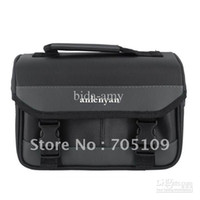 Wholesale Double pro Digital SLR Cameras Bag Case for Nikon camare Black