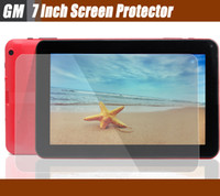 Wholesale 7 inch Screen Protector for Allwinner A13 A23 Q88 Android Tablet PC