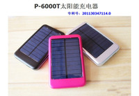 Wholesale FULL Portable mAH Solar Battery Panel Advanced Metal Thin External Charger Dual Charging for Laptop iphone MP3 MP4 Digital Camera