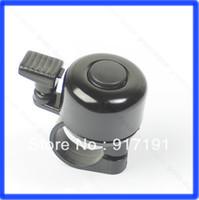 Cheap Free Shipping 3pcs lot Metal Ring Handlebar Bell Sound for Bike Bicycle Black