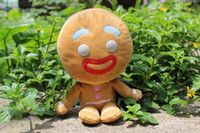 Cheap Wholesale - Europe and America Cartoon toys monster Shrek biscuit person Doll Bigheadz Plush Dools 25cm Soft Toy TS209