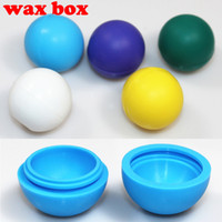 Cheap Silicone storage box for wax oil e-juice e cigarette dry herb vaporizer pen herbal vaporizer vapor cigarettes kits colorful Portable wax
