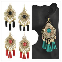 Wholesale pairs Fashion Jewelry big Peony flower Tassel Earrings Hover Etrade