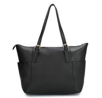 Cheap Wholesale - free shipping 2013 new female handbag 82008 black fashion hand bag classic ladies designer totes women cheap purse china post