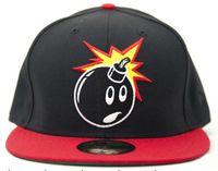 Wholesale Black Red The Hundreds Snapback hats big Bomb logo adjustable hat popular style snap back hats for sale high quality