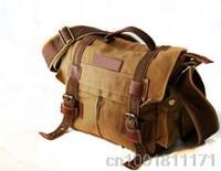Cross Body best camera bags for women - BEST SELLER Fashion Canvas DSLR Camera Bag Shoulder Messenger Bag For Canon Nikon YHF