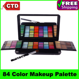 Wholesale SP84 Layer Design Full Pigment Color Eyeshadow Makeup Eye Shadow Palette with Mirror
