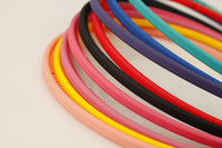 plastic headbands - Hot Sale Headbands Cute Fluorescence Color Plastic Headbands Multi Color Girl Jewelry FS173