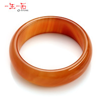 Wholesale Life a genuine natural red agate stone bracelet natural crystal jewelry mm wide wall series models