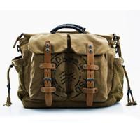 Wholesale FASHION Backpack Bags Messenger Handbags Single Shoulder Restore Ancient Style Travel Backpack canvas bag DL035