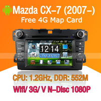 Wholesale Mazda CX Android Car DVD Player GPS Navigation with Wifi G Touch Screen Bluetooth Ipod Virtual Disc P Mazda CX Car DVD