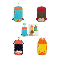 Wholesale Itemship Cartoon children Cotton Exfoliate Backrubs Body Brush Bath Shower Backs Spa Bath Mitts