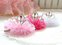Wholesale Pretty Brilliant Barrettes Little Babies Attractive Hair Accessories Heartshaped Ornament Top Quality for Sales PJ092