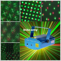 Wholesale High Quality New Blue Mini Laser stage lighting Projector DJ Disco Bar Stage House Lighting Light Galaxy Hz