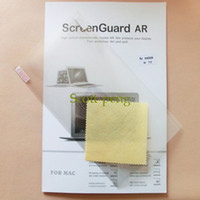Wholesale Clear Screen Guard AR Protector For Apple Macbook Air Pro Retina High Quality Screen Films Retail Package Free DHL