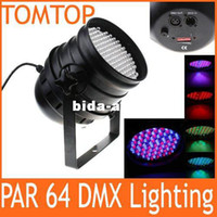 Wholesale RGB LED Light PAR DMX Lighting Laser Projector Stage Party Show Disco W V Hz