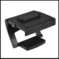 For Xbox TV Clip Black Free Shipping Plastic Kinect 2.0 Sensor TV Clip Mount Holder Stand for Microsoft Xbox One