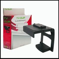 For Xbox TV Clip Black New Arrival Plastic Kinect 2.0 Sensor TV Clip Mount Holder Stand for Microsoft Xbox One Black