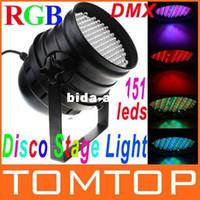Wholesale LED RGB Light Channel PAR DMX Lighting Laser Projector Stage Light Laser DJ Party Disco