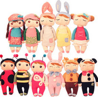 Wholesale Children Cartoon Doll Metoo Infant Plush toys insect country illusion Baby Plush Doll bolster pacify Kids Gift TS239