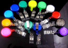 Wholesale Top quality Retractable Ski Pass ID Card Badge Holder Key Chain Reels