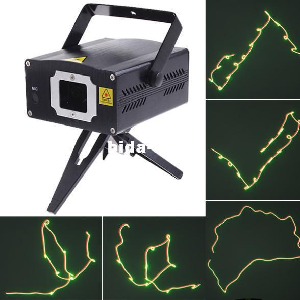 Wholesale - Mini Moving Party Laser Stage Light DJ Party Projector Laser Lighting Free shipping