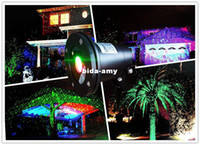 Wholesale Waterproof laser star lighting for outdoor types Landscape Green Red laser green red laser light not move
