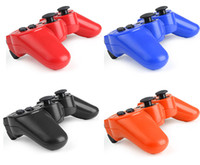 Cheap 9 Color Bluetooth Wireless Game Controller for PS 3 for PC