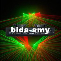 Cheap Wholesale - Free Shipping 4 Lens GREEN+RED DSPP Laser Light PRO edtion DMX Sound Active Master-Slave DJ Disco Club Christmas Light(CTL-DC+)