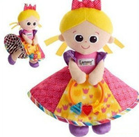 Wholesale Hot sale super cute baby plush toy lamaze multifunctional princess colorful bed hang bell baby mobile