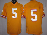 Wholesale Brand New Game Orange Football Jerseys Tampa BayTeam American Sports Uniforms Josh Freeman Sportswear Sports Shirts game jerseys