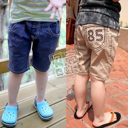 Wholesale SUNLUN summer digital paragraph boys clothing girls clothing baby capris pants kz