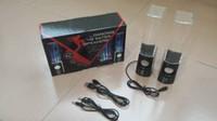 2 Universal MP3 Speaker colorfull water dancing speakers