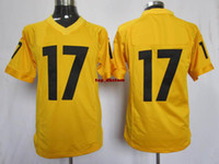 Wholesale 2013 New Mens game Jersey Steelers Team Wide Receiver J D Woods orange American Football Jerseys Well Made custom sports uniforms