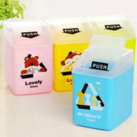Wholesale Mixed color lovely cartoon animal table snack groceries GARBAGE CAN TRASH CAN Garbage bin box Hot popular cute mini trash bins waste bins