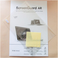 Wholesale LCD Screen Protector For MacBook Air quot quot Pro Retina quot quot Quality Screen Film Guard amp Retail Package Free DHL